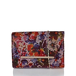 Lotus - Multicoloured leather 'Akina' matching bag