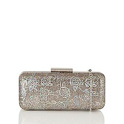Lotus - Metallics 'Borka' clutch bag