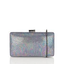 Lotus - Metallics 'Honesty' matching clutch bag