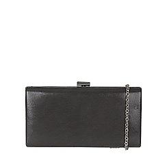 Lotus - Black 'Barnie' clutch bag