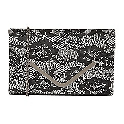 Lotus - Black 'Epona' matching clutch bag