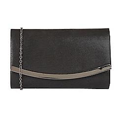 Lotus - Black 'Hester' matching clutch bag