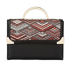 Lotus - Red multi 'Draven' hand held bags