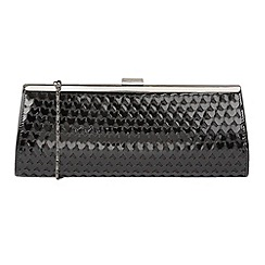 Lotus - Black shiny 'Littleton' matching clutch bags