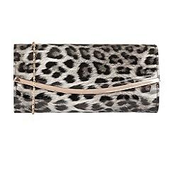 Lotus - Grey 'Jamuna' matching clutch bags