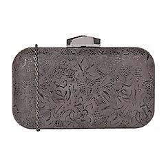 Lotus - Grey 'Puffin' matching clutch bag