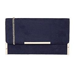Lotus - Navy 'Flamina' clutch bags