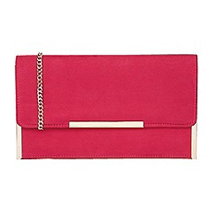 Lotus - Raspberry 'Flamina' clutch bags