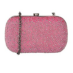 Lotus - Pink 'Fluvia' matching clutch bag
