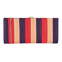 Lotus - Purple 'Uliva' matching clutch bag
