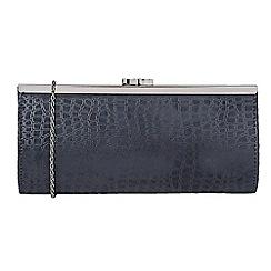 Lotus - Blue 'Dandy' matching clutch bag