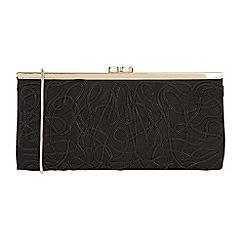 Lotus - Black 'Dina' matching clutch bag