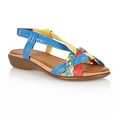 Lotus - Multi bright: 'Zaragoza' open toe sandals