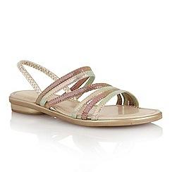 Lotus - Multi brights 'Tropica' open toe sandals