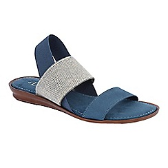 Lotus - Blue 'Visco' sandals