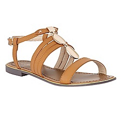 Lotus - Tan 'Alpine' sandals