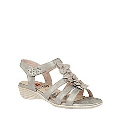 Lotus - Metallic 'Sonal' sandals
