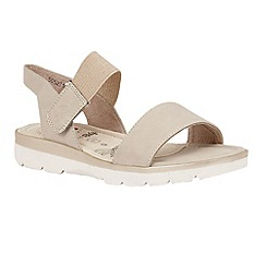 Lotus - Beige 'Abiana' sandals