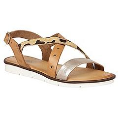 Lotus - Tan 'Tigerlily' strappy sandals