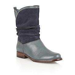Lotus - Petrol ' Fiza' calf  boots
