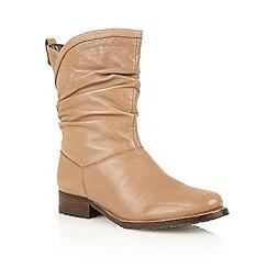 Lotus - Stone 'Fiza' calf boots