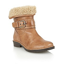 Lotus - Tan leather ' Matterhorn' ankle boots