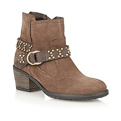 Lotus - Stone ' Kaylagh' ankle boots