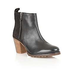 Lotus - Black 'Teagan' ankle boots