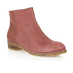 Lotus - Bordo 'Hawk' ankle boots