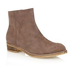 Lotus - Brown 'Hawk' ankle boots