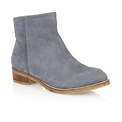 Lotus - Navy 'Hawk ' ankle boots