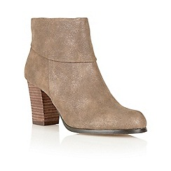 Lotus - Bronze ' Claudia' ankle boots
