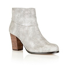 Lotus - Pewter 'Claudia' ankle boots