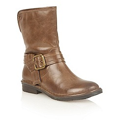 Lotus - Brown leather 'Moyle' ankle boots