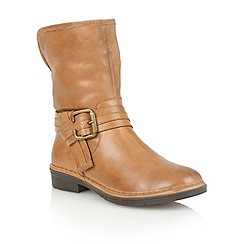 Lotus - Tan leather 'Moyle' ankle boots