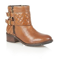Lotus - Tan leather 'Herkla' ankle boots
