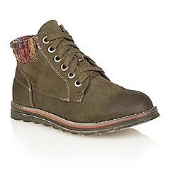 Lotus - Green 'Akai' ankle boots