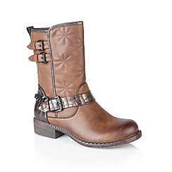 Lotus - Brown 'Giosetta' ankle boots