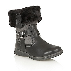 Lotus - Black 'Roxana' ankle boots