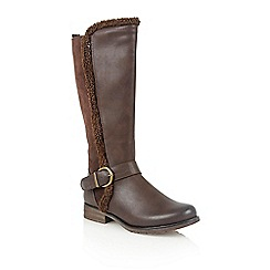 Lotus - Brown matt 'Galilea' boots