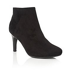 Lotus - Black 'Fauna' ankle boots