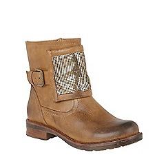 Lotus - Tan 'Bartek' ankle boots