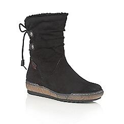 Lotus - Black Relife 'Modane' calf boots