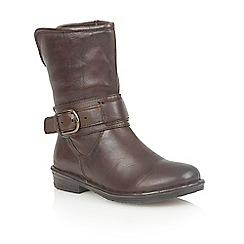 Lotus - Brown leather 'Matterhorn' ankle boots