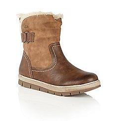 Lotus - Brown 'Rya' ankle boots