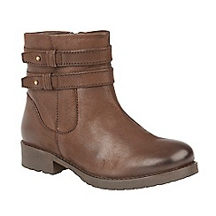 Lotus - Brown 'Heckle' ankle boots