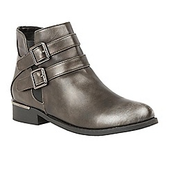 Lotus - Metallics 'Palm' ankle boots
