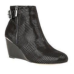 Lotus - Black 'Dalice' high heel ankle boots