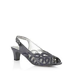 Lotus - Lotus navy 'Harper' court shoes