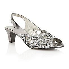 Lotus - Pewter 'Harper' court shoes
